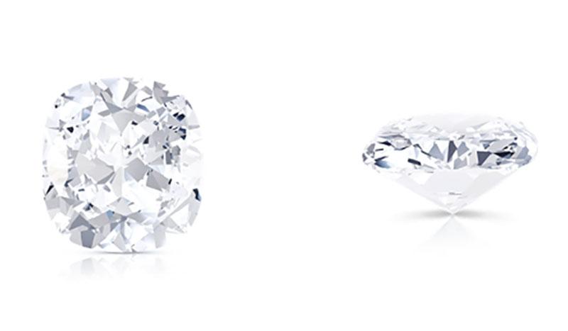 fine jewels diamond shapes cushion cut