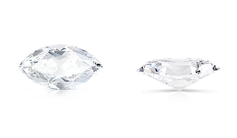 fine jewels diamond shapes marquies cut