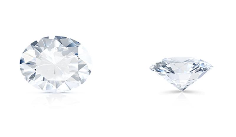 fine jewels diamond shapes oval cut