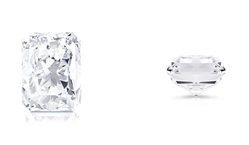 fine jewels diamond shapes radiant cut