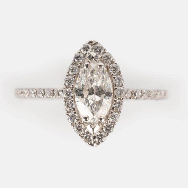 Marquise Diamond Ring
