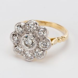 25ct Cluster Ring