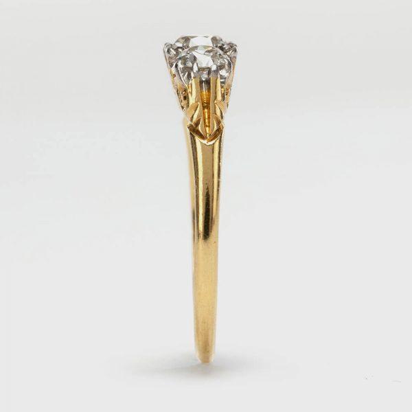 Diamond 3 Stone Ring