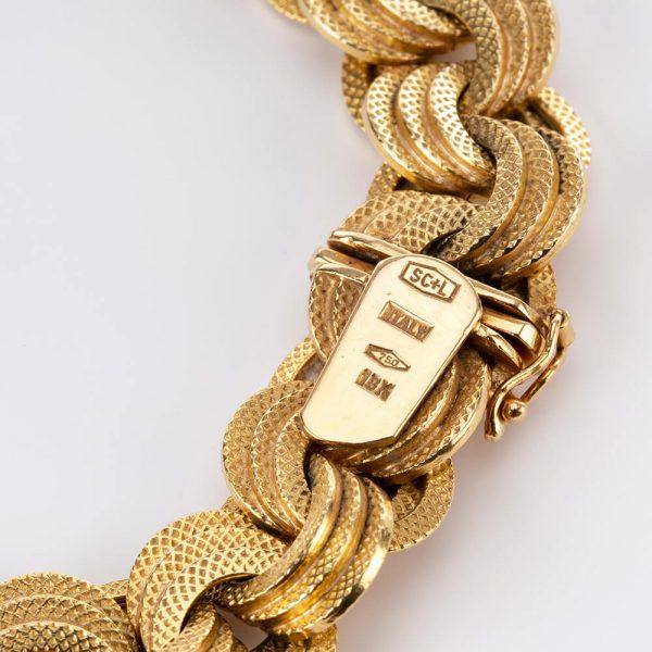 Vintage Gold Bracelet