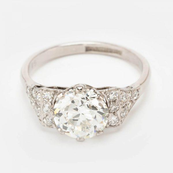 Fine Jewels Of Harrogate Diamond SS Ring