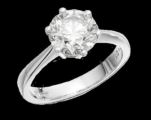 fine jewels cleaning platinum ring