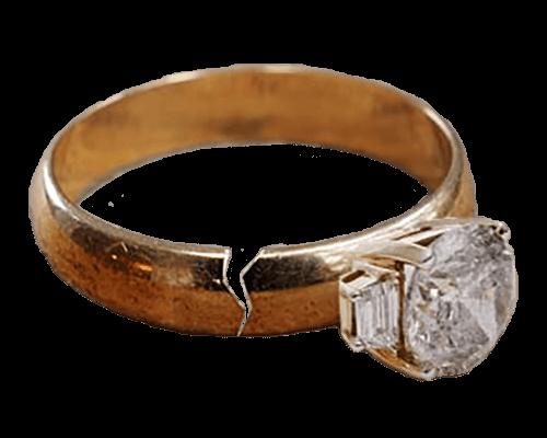 fine jewels broken ring