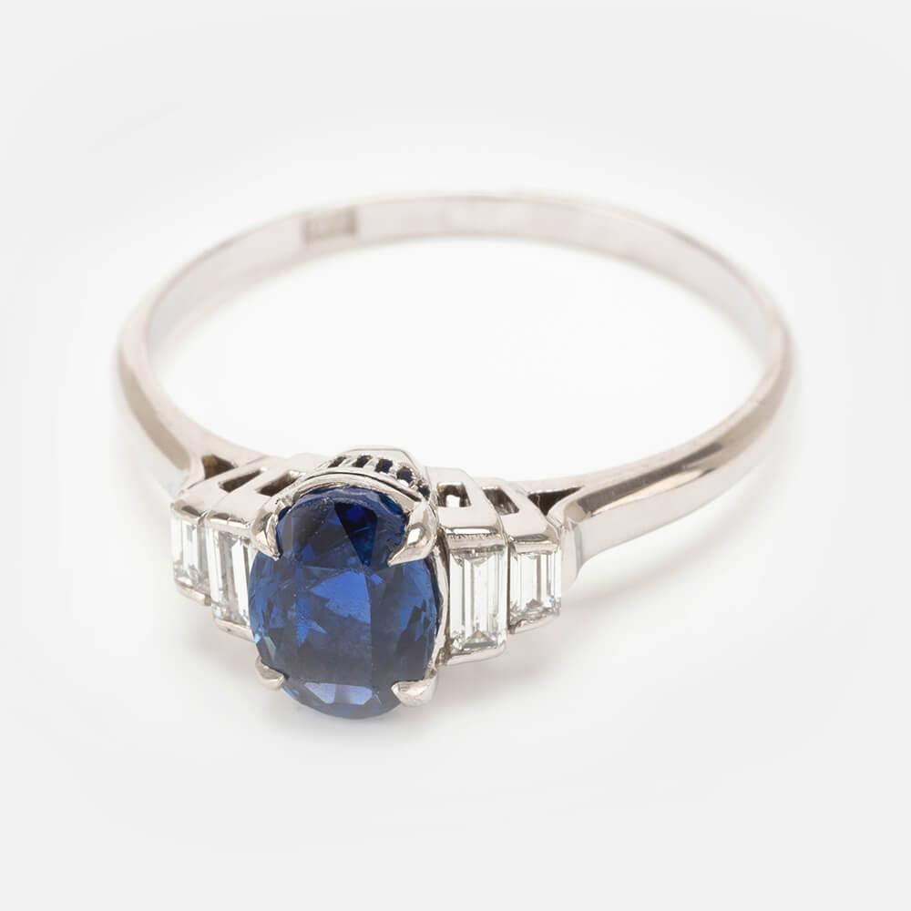 Fine Jewels Of Harrogate Sapphire Diamond Ring