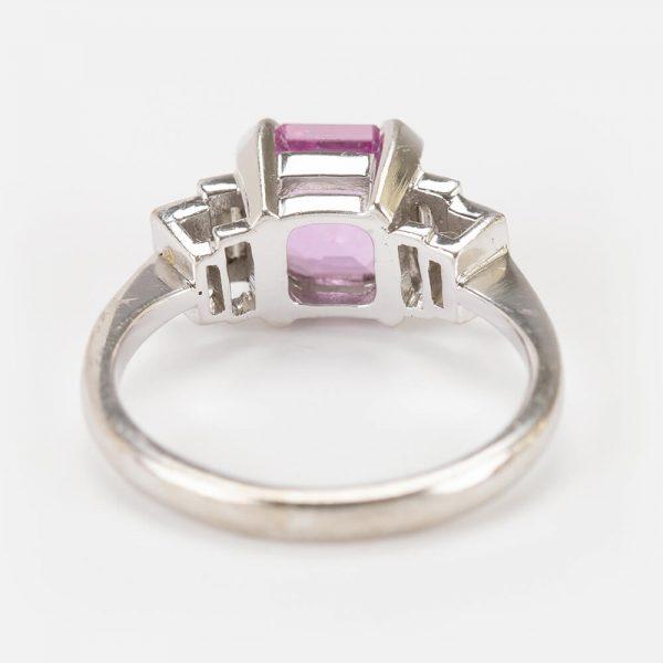 Fine Jewels Of Harrogate Pink Sapphire Diamond Ring