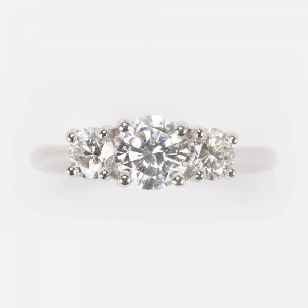 Fine Jewels Of Harrogate Diamond 3 stone Ring