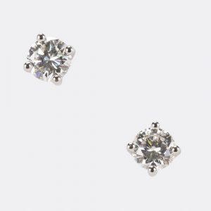 Fine Jewels Of Harrogate Diamond Stud Earring