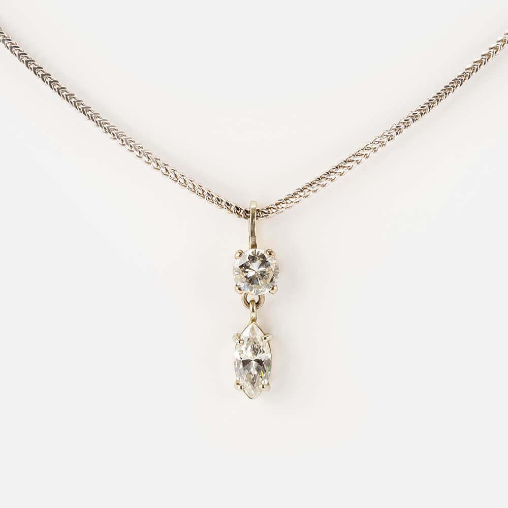 Fine Jewels of Harrogate Diamond Pendant Chain