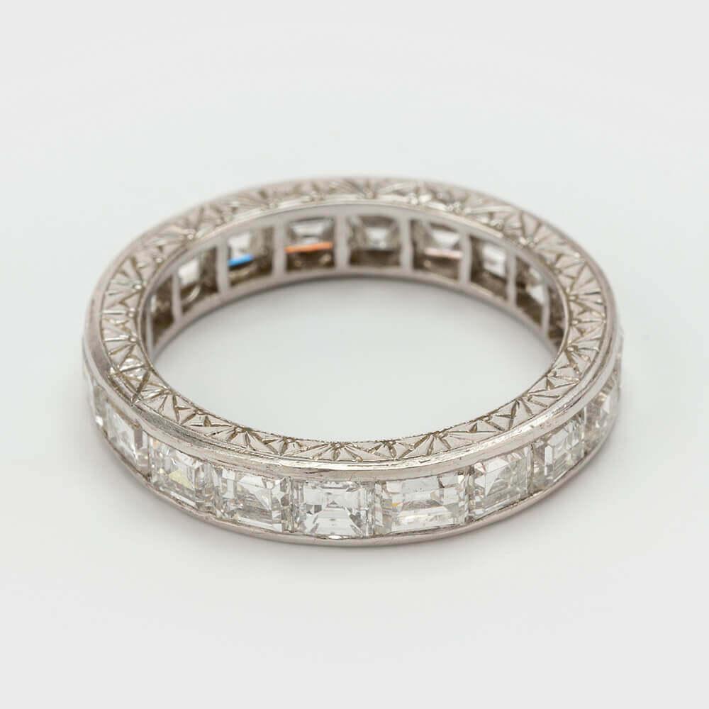 Fine Jewels of Harrogate Square Diamond ET Ring