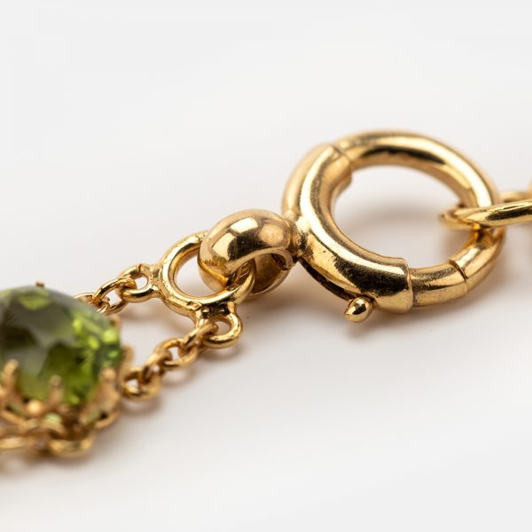 Fine Jewels of Harrogate Peridot-Tourmaline-Bracelet