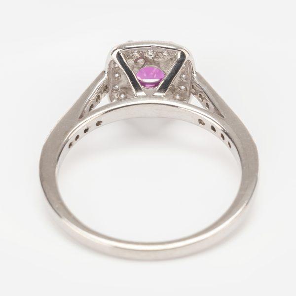 Fine Jewels of Harrogate 44174-3-Red-Tourmaline-Dia-2
