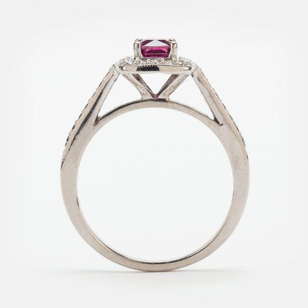 Fine Jewels of Harrogate 44174-3-Red-Tourmaline-Dia-3
