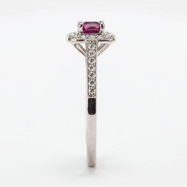 Fine Jewels of Harrogate 44174-3-Red-Tourmaline-Dia-4