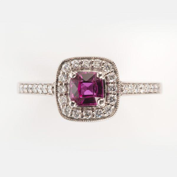 Fine Jewels of Harrogate 44174-3-Red-Tourmaline-Dia-5