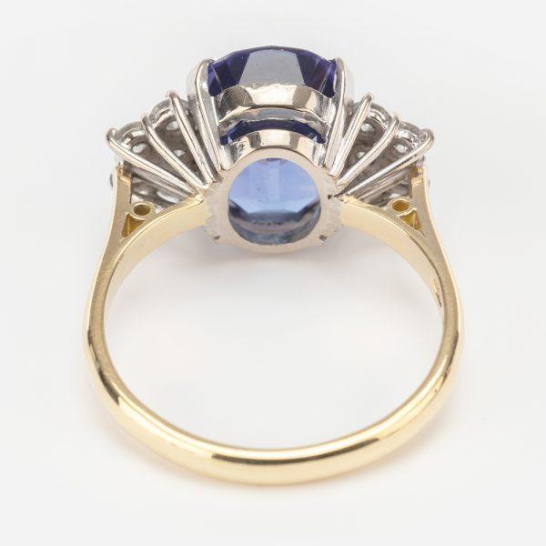 Fine Jewels of Harrogate 44174-4-Tanzanite-Dia-Ring-2