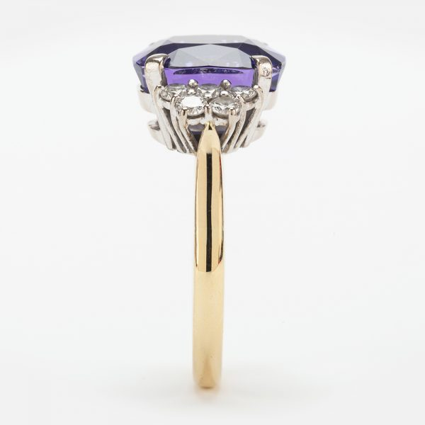 Fine Jewels of Harrogate 44174-4-Tanzanite-Dia-Ring-4