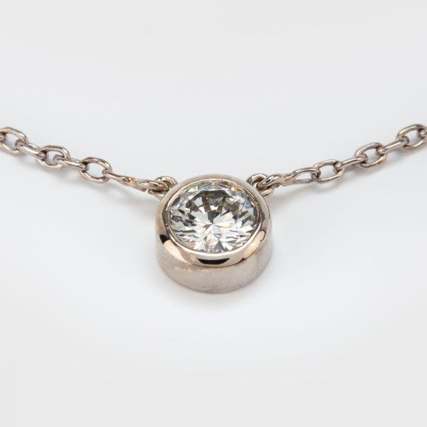 Fine Jewels of Harrogate 44297-B12-Diamond-Pendant-and-Chain-2