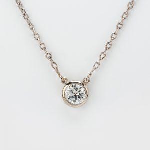 Fine Jewels of Harrogate 44297-B12-Diamond-Pendant-and-Chain-3