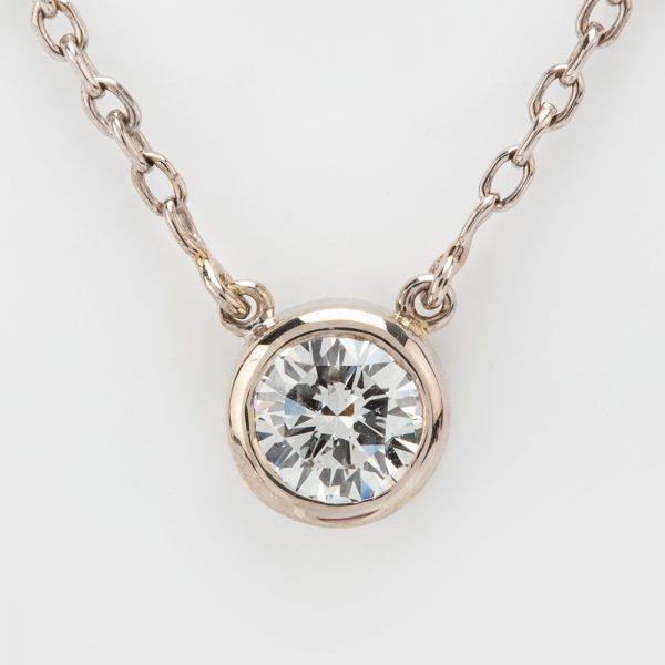 Fine Jewels of Harrogate 44297-B12-Diamond-Pendant-and-Chain-4