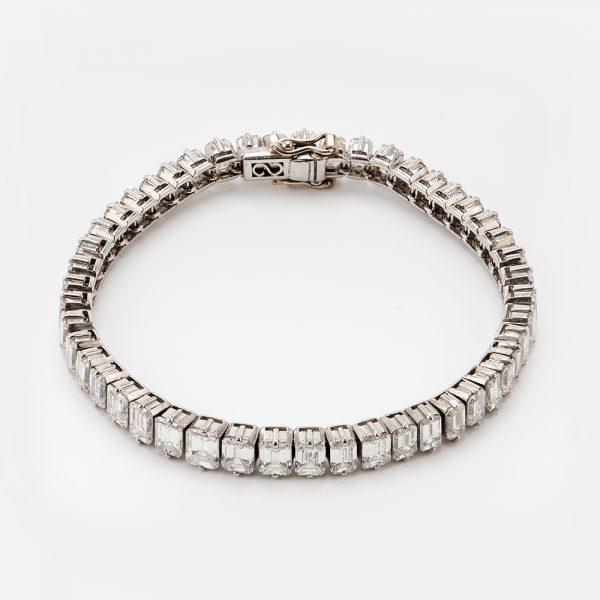 Fine Jewels of Harrogate 44573-11-Dia-Bracelet-Approx-16ct-2