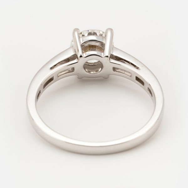 Fine Jewels of Harrogate 44573-7-1.00ct-RD-Dia-SS-EVVsc-Ring-2
