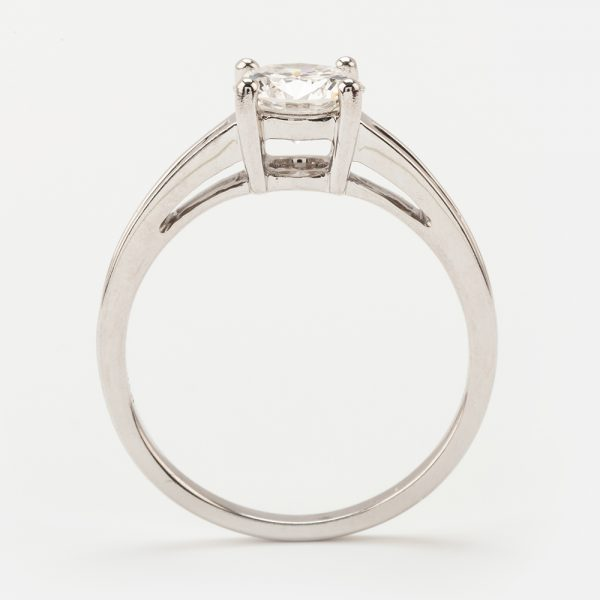 Fine Jewels of Harrogate 44573-7-1.00ct-RD-Dia-SS-EVVsc-Ring-3
