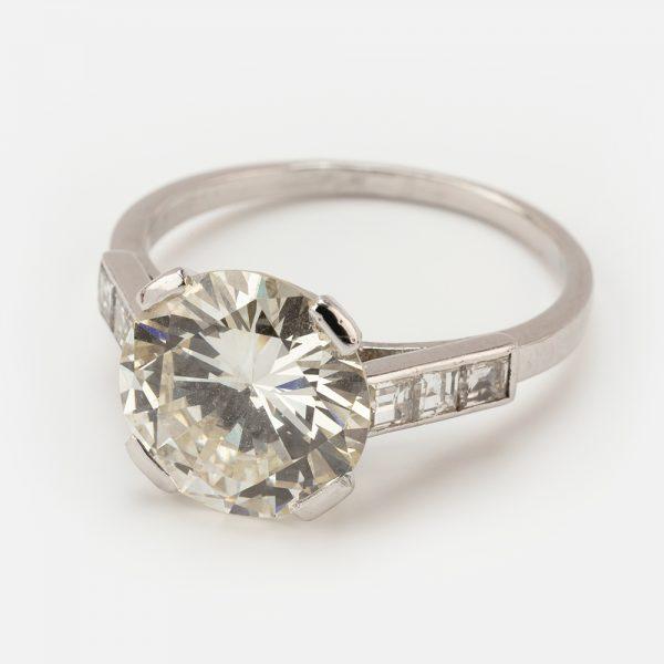 Fine Jewels of Harrogate 44573-9-3.76ct-RD-Dia-SS-Ring-1