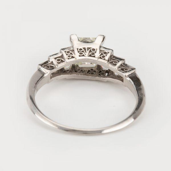 Fine Jewels of Harrogate 45026-11-Diamond-0.9ct-French-Cut-SS-Ring-2
