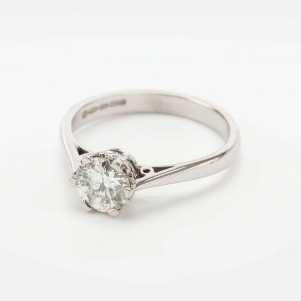 Fine Jewels of Harrogate 44569-12-Dia-0.75ct-SS-Ring-1