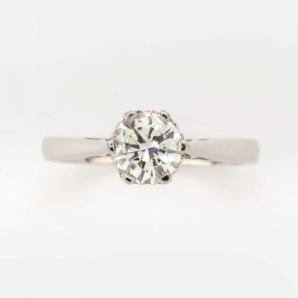 Fine Jewels of Harrogate 44569-12-Dia-0.75ct-SS-Ring-5