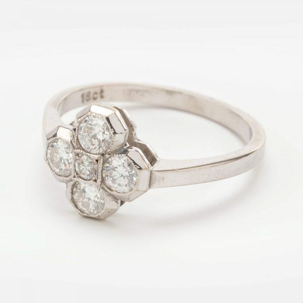 Fine Jewels of Harrogate 44569-2-Dia-5st-Cluster-Ring-1