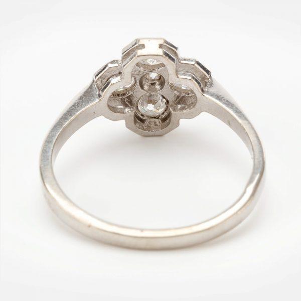 Fine Jewels of Harrogate 44569-2-Dia-5st-Cluster-Ring-2