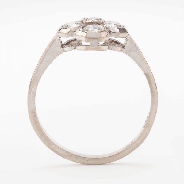 Fine Jewels of Harrogate 44569-2-Dia-5st-Cluster-Ring-3