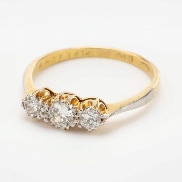 Fine Jewels of Harrogate 44569-3-Dia-3st-Ring-1
