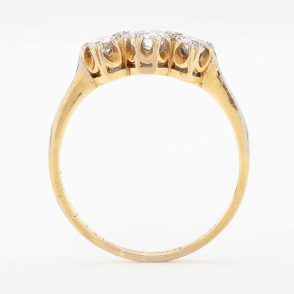 Fine Jewels of Harrogate 44569-3-Dia-3st-Ring-3