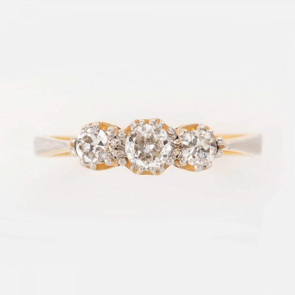 Fine Jewels of Harrogate 44569-3-Dia-3st-Ring-5