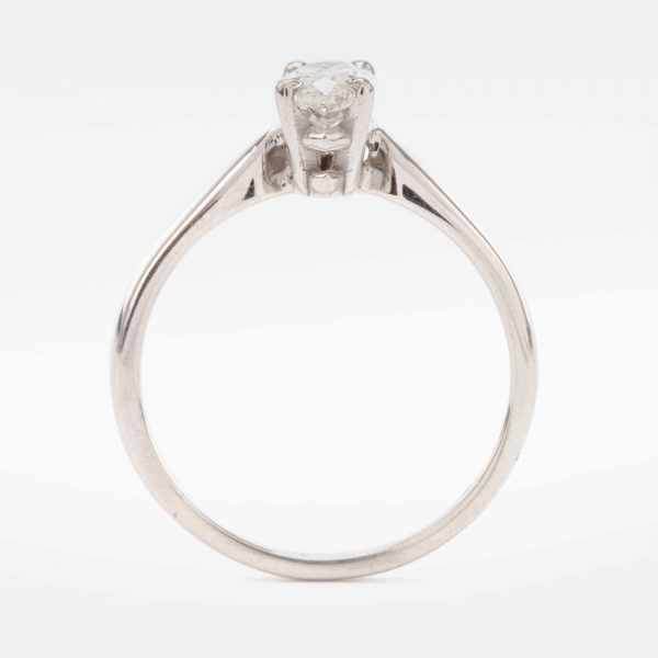 Fine Jewels of Harrogate 44569-6-0.82ct-Marquise-Dia-SS-Ring-3