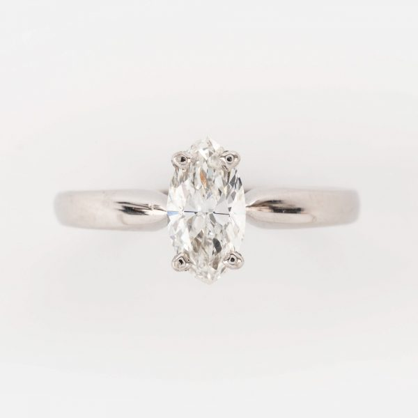 Fine Jewels of Harrogate 44569-6-0.82ct-Marquise-Dia-SS-Ring-5