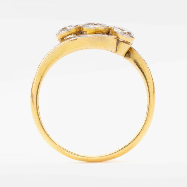Fine Jewels of Harrogate 44569-7-Dia-3st_Twist-Ring-3